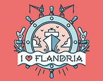Flandria - Tattoo illustration