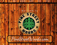 Pine Street Woods Web redesign