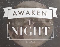CJ Lukas, Awaken the Night | Album & Shirts