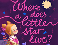 Where does a little star live?