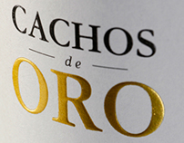 Cachos de Oro Wine Label