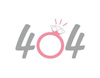 404 & 500 Error - Wedding Style