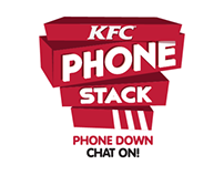 KFC Phone Stack