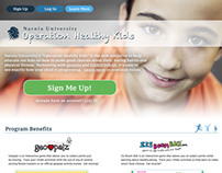 Operation Healthy Kids - Concept
