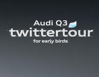 Audi Q3 Twittertour