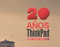 Lenovo Thinkpad 20th anniversary. Radio Spots