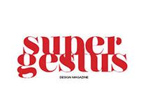 Design Magazine Project - SuperGestus