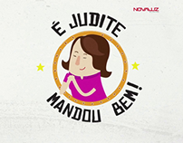 NovaLuz_Judite sempre mandou bem!
