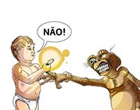 No! Bad E.T.!