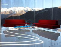 Olympic studio, Sochi 2014