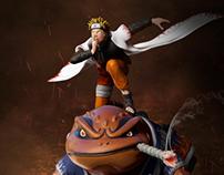 Naruto Sennin & Gamakichi