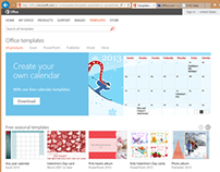 Office.com Templates Site Management