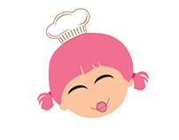 Logo for : http://pink-kitchen.co.uk/blog/new-pink-kitc