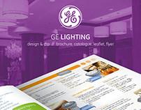 GE Lighting // graphic design