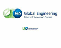 P&G Global Engineering identity and tagline