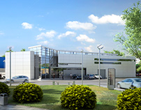 2009   Центр технического обслуживания автомобилей