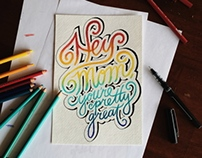 Hand Lettering - Part II