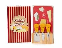 Kit para cortar Queijo - Cheese Board