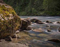 Snoqualmie River HDR Time-lapse