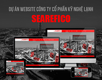 Searefico Group _ Parallax Scrolling Layout