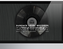Surface Level Records Website