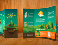 Vintage Style Ecology Brochure