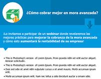 Mail invitación a webinar