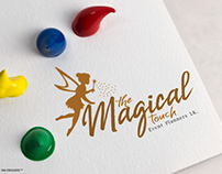 The Magical Touch Event - Brand Identity Desi