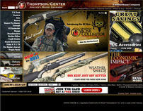 Website Design - Thompson Center Arms - www.tcarms.com