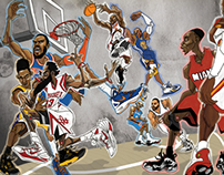 My selection of NBA All-Stars 2014