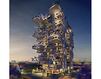 Hanging Gardens / Breeze Residences