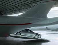Audi A8. TV launch.