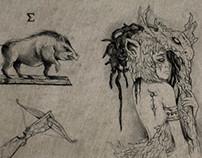 """SketchBook  """"El Libro de Deneb"""""""