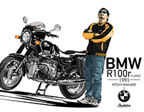 "BMW R100r Classic ""Ritchy Makamo"""