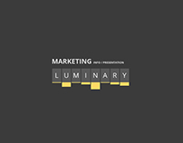 Luminary Presentation template
