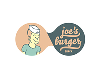 Joe Burger Shack - Branding