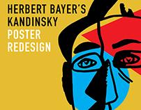 Herbert Bayer's Kandinsky Poster Redesign