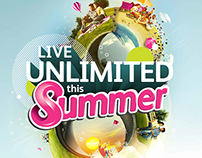 8ta LIVE UNLIMITED THIS SUMMER CAMPAIGN