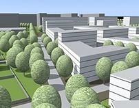 Praha Libuš - návrh urbanistického řešení