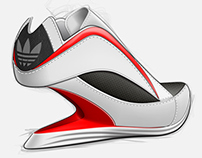 Adidas High Heel Sneakers