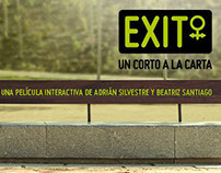 """Exit, un corto a la carta"" film"