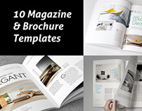 Magazine & Brochure Templates