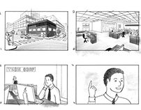 Story Board - In the Office