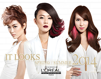 Loreal Professional - IT Looks SS 2014