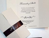 Una boda muy formal
