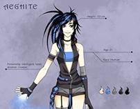 Aeghite character design