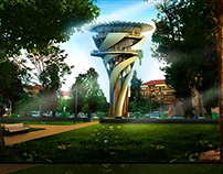 Water Tower Reconversion - Architecture Project