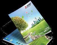 Mitsubishi Electric  Katalog Kapak Tasarımı