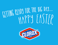 Clorox Easter Greeting