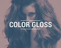 Color Gloss | landing page